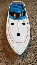 """Remote Control Power 28"""" Long Speeder Racing Boat for Parts"""