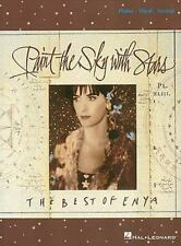 Enya Paint The Sky With Stars Piano Vocal Guitar Book NEW!