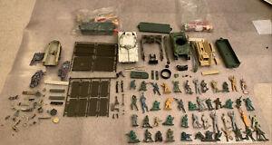1/30 1/32 1/35 Junk Lot, Britains 21st Century Monogram Sherman Panzer IV parts