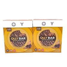2 Olly 12.7 Oz Peanut Butter Chocolate 12g Plant Protein 8 Ct Perfection Bars