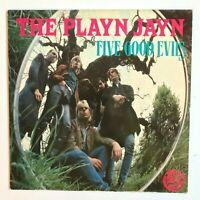 THE PLAYN JAYN – Five Good Evils 1985 Neo-Psychedelia Vinyl Album VG+/VG