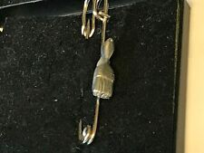 "Paint Brush TG47 Pewter Scarf and Kilt Pin Pewter 3"" 7.5 cm"
