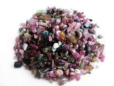100g  GEMSTONE Chips Natural tourmaline Small Stones crystal Specimen/Wholesale