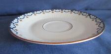 Königl.Tettau, Untertasse 14,3 cm, Blumenranke blau/weiß, weitere, Porzellan