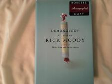 Demonology : Stories by Rick Moody (2001, Hardcover). Signed