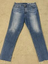 EUC AG Jeans ADRIANO GOLDSCHMIED Sophia High-Rise Ankle Jeans Women's $225 Sz 31