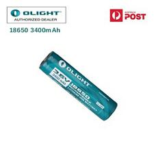 Olight Genuine 18650 3400mah Rechargeable Battery Batteries Carry Case