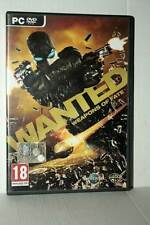 WANTED WEAPONS OF FATE GIOCO USATO PC DVD VERSIONE ITALIANA GD1 42495