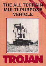 Trojan TR4 TR5 TR6 Rimorchio Tutti Terrain MPV mercato britannico FOLDOUT BROCHURE DI VENDITA