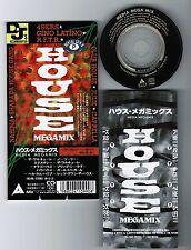 "MEDIA MEGAMIX 49ers,Gino Latino,R.F.T.R.,Cappela JAPAN 3"" CD 11B3-86 Unsnapped"
