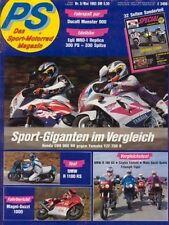 PS9305 + Langstreckentest YAMAHA XTZ 660 Ténéré + Test BMW R 1100 RS + PS 5/1993