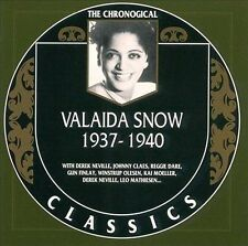 VALAIDA SNOW 1937-40 CLASSICS CD LONG OUT OF PRINT NEW SEALED