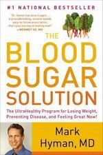 The Blood Sugar Solution Book by Dr. Mark Hyman Diabetes Prevention Diet Program