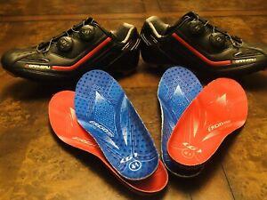Louis Garneau Carbon Cycling Road shoe 41 Ergo air Exo-Jet carbon, HRS 300.