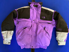 North Face EXTREME GEAR Ultrex Winter Purple Black Down Coat Jacket Sz Small