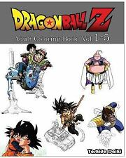 Dragon Ball Z : Adult Coloring Book VoL. 1-5 : Sketch Coloring Book by...
