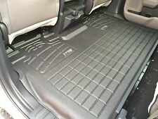 Second Row Floor Mat in Black for 2015 - 2017 Ford F150 Super Crew
