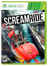 SCREAMRIDE - Xbox 360 Game Rollercoaster SIM Ride Theme Park 12 PAL