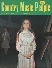 Melba Montgomery on Magazine Cover December 1974     Tennessee Ernie Ford