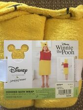 Disney Jumping Beans Winnie the Pooh Bear Kids Hooded Bath Towel Wrap - New!