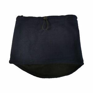 Adults Pro Climate Unisex Fleece Neckwarmer Snood Scarf Black, Navy or Grey
