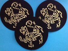 3 Lot Vintage 1970's Shotokan Karate Do MMA Martial Arts Uniform Gi Patches 355