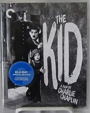 The Kid (Blu-Ray Disc, Criterion Collection Feb-2016) 1921 C. Chaplin Comedy