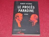 [BIBL.H.& P-J.OSWALD] GRAND CABINET NOIR - ROBERT HICHENS PROCES PARADINE 2002