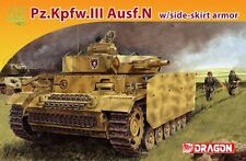 Dragon 7407 1/72 German Pz.Kpfw.III Ausf.N w/Side-skirt Armor - Armor Pro Series