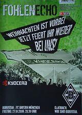 Programm 2005/06 Bor. Mönchengladbach - Bayern München