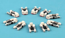 10PCS 1:400 Aviation Aircraft tug truck Tractor Airport GSE Accessories Plastic