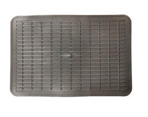 Heel mat protector pad for drivers car carpet mat black