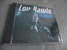 *NEW* LOU RAWLS : I'M BLESSED ORIGINAL CD ALBUM AMAZING GRACE HAPPY DAY 2001