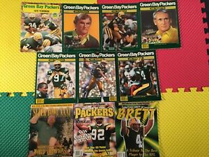Green Bay Packers (7) Yearbooks (1) SB XXXI Program & (2) Gold Collector Mags