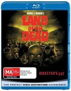 Land Of The Dead (Blu-ray, 2009)*George A Romero*Terrific Condition *