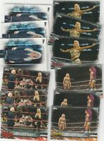 2017 Topps WWE Womens Division Charlotte Flair Card Lot of 21