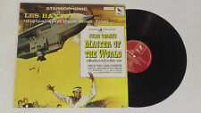 Jules Verne 's-master of the World-Les Baxter LP COLONNA SONORA OST