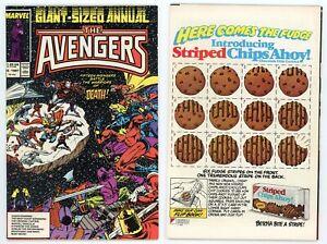 Avengers Annual #16 (VF+ 8.5) Silver Surfer appearance Thor Death 1987 Marvel