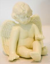 Sitting Angel With Legs Crossed Hand on Knee Classic Figure