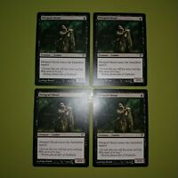 Diregraf Ghoul x4 Innistrad 4x Playset Magic the Gathering MTG
