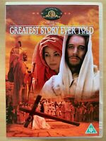 The Greatest Story Ever Told DVD 1965 Biblical / Jesus / Religious Epic Classic