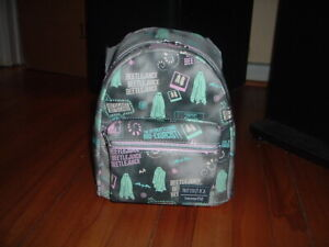 LOUNGEFLY PASTEL BEETLEJUICE MINI BACKPACK~ WITH TAGS~BRAND NEW~