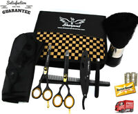 "US Salon Hair Cutting Thinning Scissors Barber Shears Hairdressing Kit Set 5.5"""
