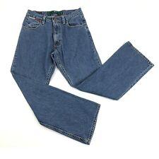 Vintage Tommy Hilfiger Jeans Mens 31 x 32 Blue Straight Leg Retro