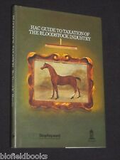 HAC Guide-Taxation of the Bloodstock Industry-1987-1st Farming/Livestock Int
