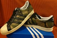 adidas Originals CLOT Superstar 80s 84-Lab UK 10 Hemp /Core Black Chalk White