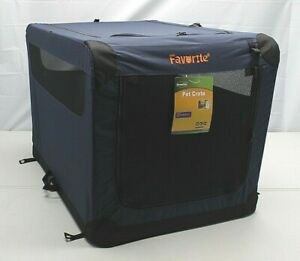 Favorite Pet 36X24X24 Kennel Soft Sided Folding Travel Carrier Dog Crate ~NEW 👀