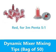Dental Red Dynamic Mixing Tips For 3m Espe 3m Penta 50pcsbag