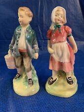 Royal Doulton Jack And Jill Figurines Hn2060 Hn2061 Nursery Rhyme Series Mint