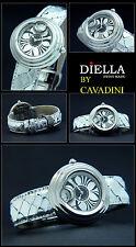 de luxe Cavadini Montre pour femmes Conception pièce très solide Vaganza reptile